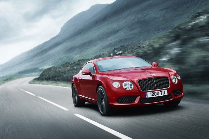 BENTLEY CONTINENTAL GT COUPE 4.0 V8