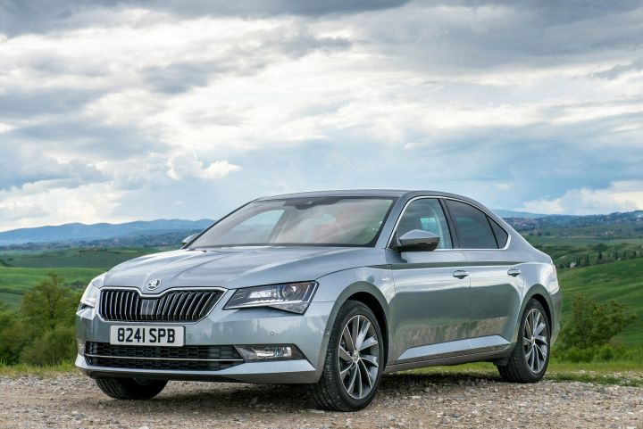 skoda superb diesel estate 2 0 tdi cr se l executive 5dr dsg. Black Bedroom Furniture Sets. Home Design Ideas