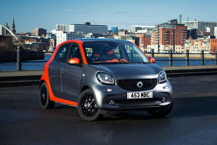 SMART FORFOUR HATCHBACK SPECIAL EDITIONS 1.0
