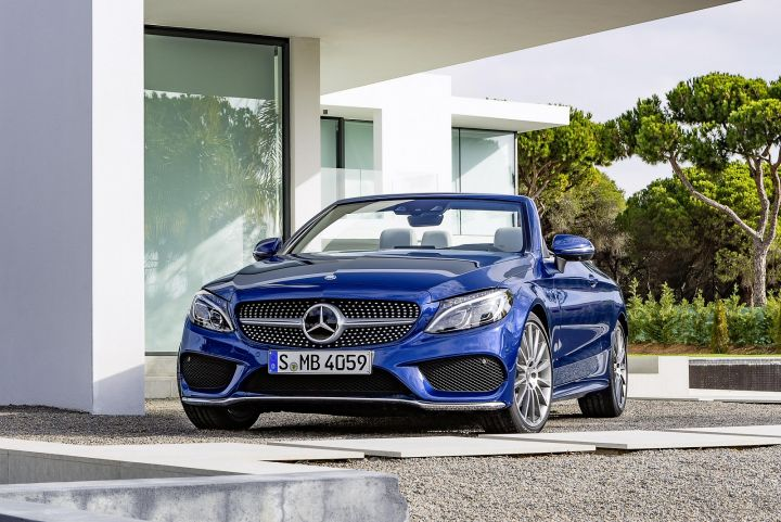 Mercedes benz c class cabriolet c200 amg line 2dr auto for Mercedes benz lease cars