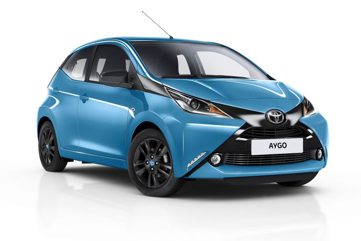 TOYOTA AYGO HATCHBACK SPECIAL EDITIONS 1.0 VVT-i X-Cite 3 3dr