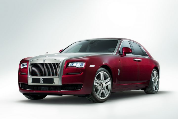 ROLLS-ROYCE GHOST SALOON II